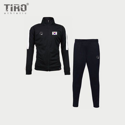 TIRO 18 TRACK SUIT KOREA EDITION(BLACK/WHITE)