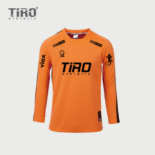 TIRO ETERNAL.17 L/S (ORANGE/BLACK)