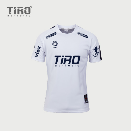 TIRO ETERNAL.17 S/S (WHITE/NAVY)