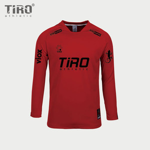 TIRO ETERNAL.17 L/S (RED/BLACK)