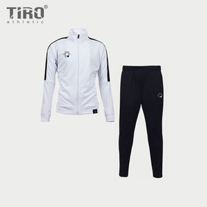 TIRO 18 TRACK SUIT(WHITE/BLACK)
