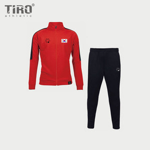 TIRO 18 TRACK SUIT KOREA EDITION(RED/BLACK)