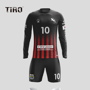 TIRO WARRIOR.18 (BLACK / LS)