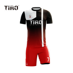 TIRO WARRIOR.18 (BLACK/RED SQ / SS)