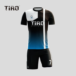 TIRO WARRIOR.18 (BLACK/BLUE SQ / SS)