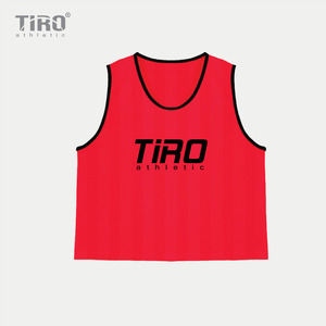 TIRO TEAM VEST(NEON RED)
