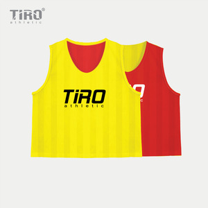 TIRO REVERSIBLE TEAM VEST(RED/YELLOW)
