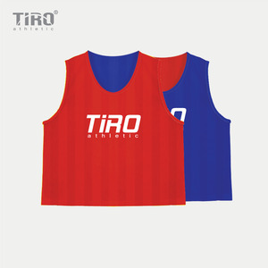 TIRO REVERSIBLE TEAM VEST(RED/BLUE)