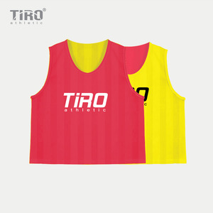 TIRO REVERSIBLE TEAM VEST(NEON YELLOW/RED)